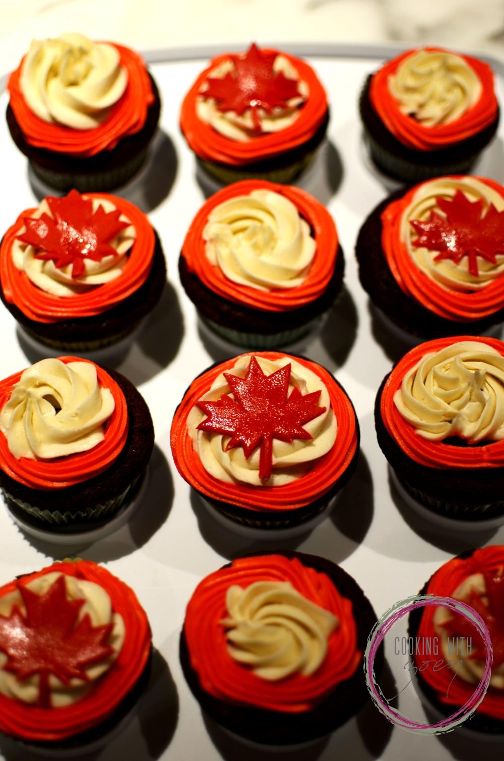 Maple Buttercream Cupcakes